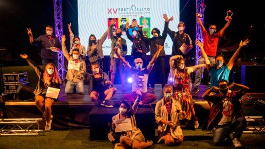 Ápice se alza con el premio al Cortometraje Más Destacado del XV Festivalito