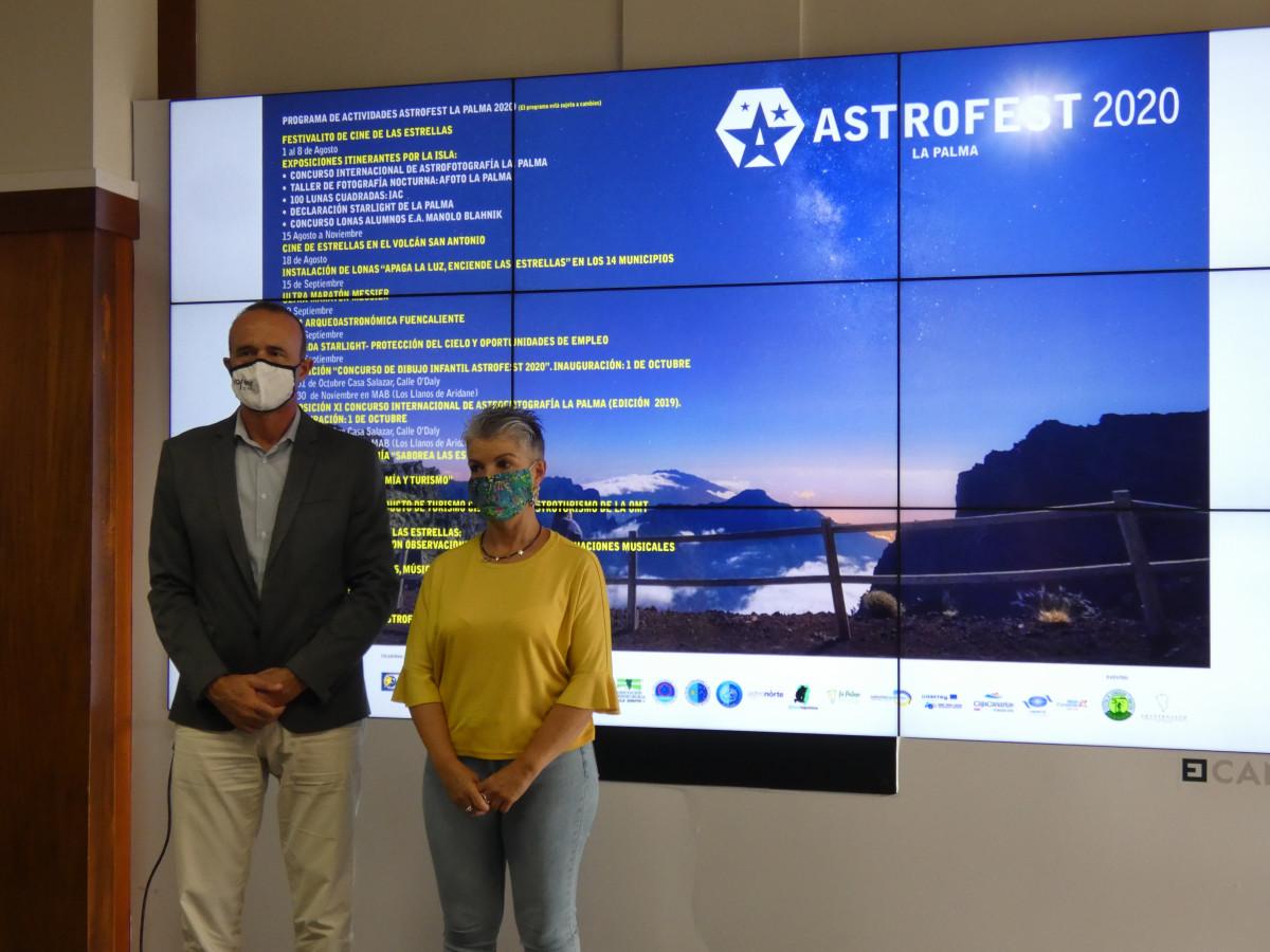 'Astrofest' vuelve a reivindicar a La Palma como isla de referencia internacional para la astronomía, la astrofísica y el astroturismo