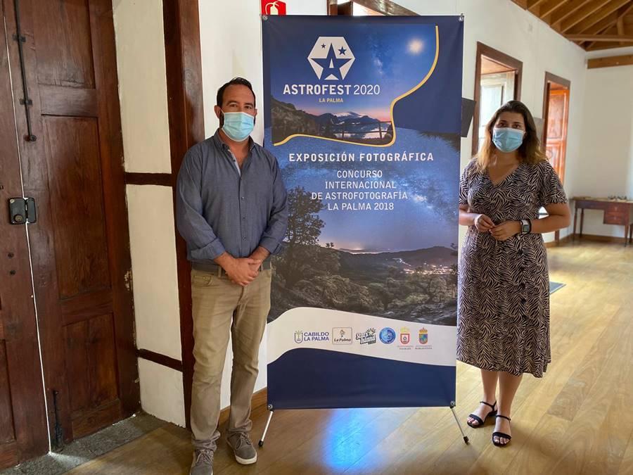 exposición astro fotografía Tijarafe